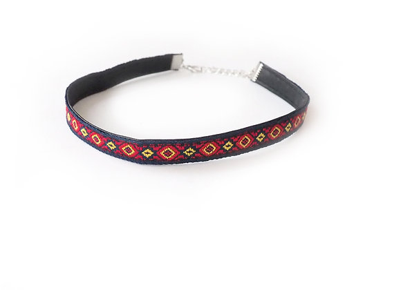 Kate Embroidered Choker