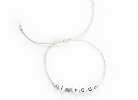 Personalised String Bracelet