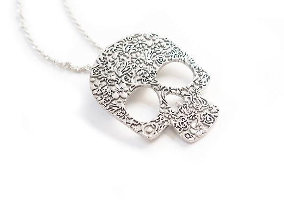 Sugar Skull Necklace (small)