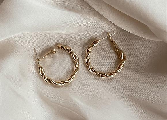Ottilie Hoop Earrings