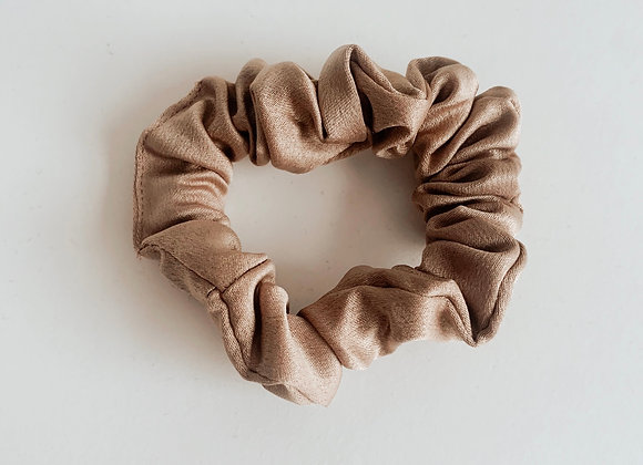 Mocha Mini Sleep Scrunchie
