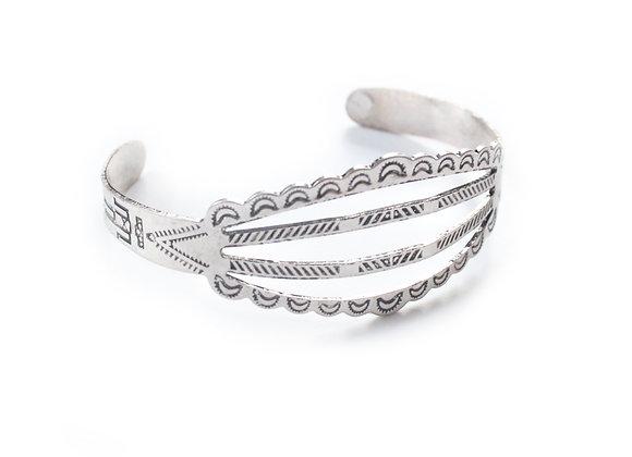 Moonchild Silver Cuff Bangle