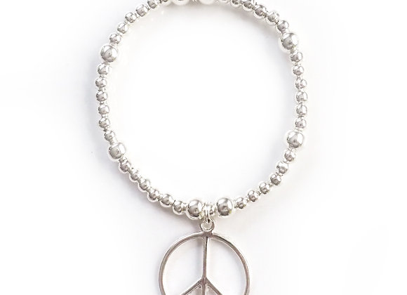 Pretty Little Doll Peace Bracelet