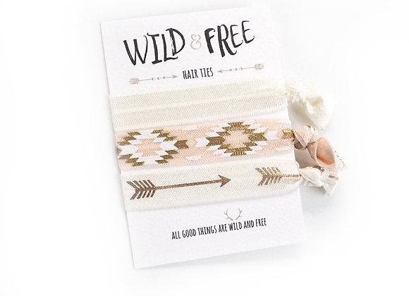 Wild & Free Hair Ties 'Beyond The Arrows'