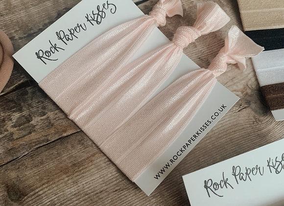 Soft Pink Hair Ties