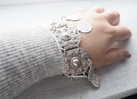 Virtue Coin Bracelet