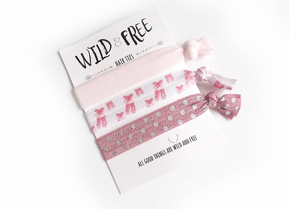 Wild & Free Hair Ties 'Put On Your Dancing Shoes'