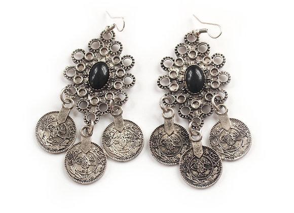 Noir Gypsy Earrings