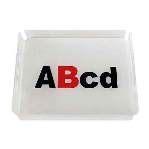 ABcd Tray