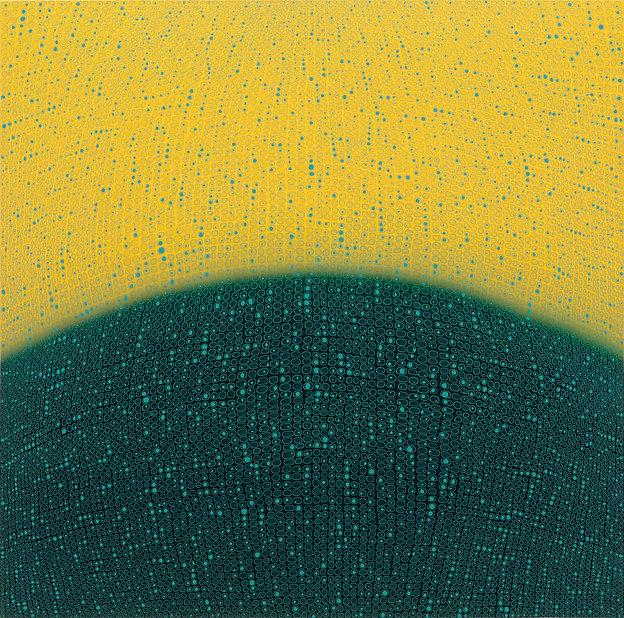 Teo González post-minimal painting