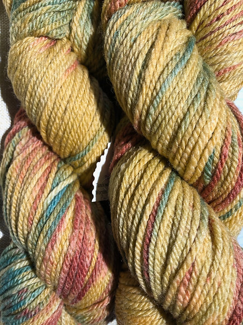 """""""Painted Desert"""" 100% Tunis Worsted Wt."""