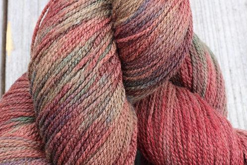 """Red Flannel Shirt"" Merino w/ 10% Silk"