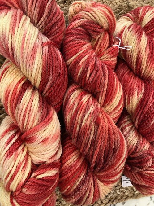 """Rose Boquet"" Tunis, Worsted Weight"
