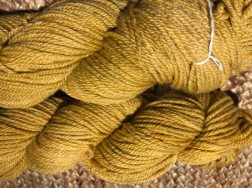 """Old Gold"" 100% Tunis, Worsted Wt."