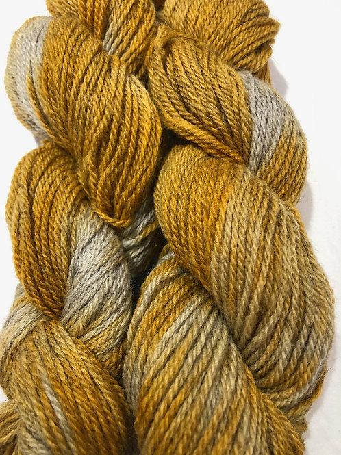 Turmeric Root, Icelandic w/ 20-30 % Merino, Worsted wt.
