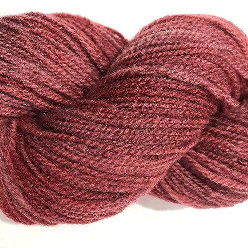 Old Rose, tonal, Merino w/ 10% Silk, Fingering wt.