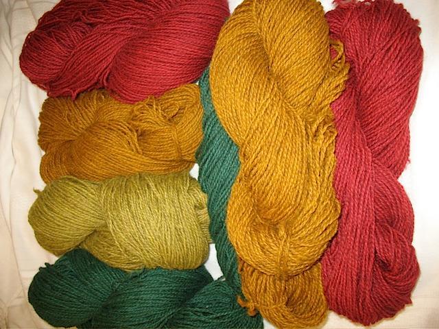 Tamarack Farm Hand-dyed Yarnnnnnnn