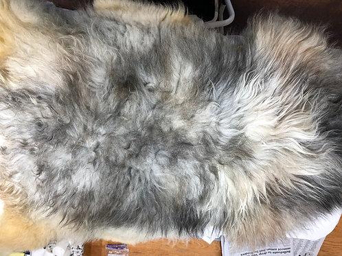 Grey Icelandic Lamb Pelt
