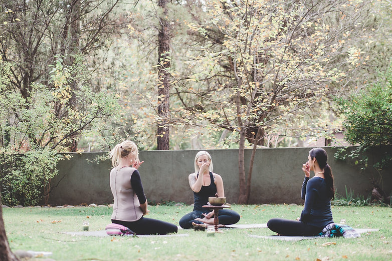 Sedona Private Yoga Class Breath Work