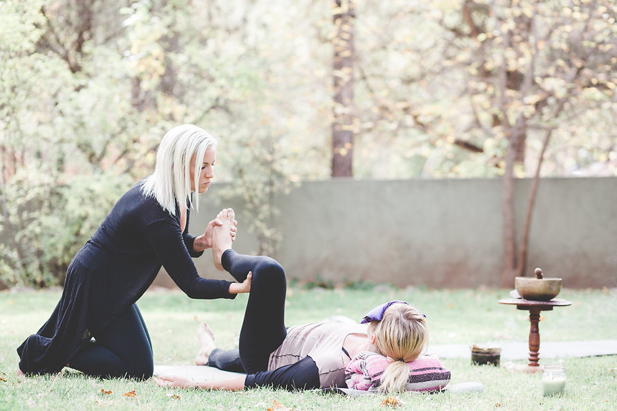 Private Yoga In Sedona With Vita Pura Yoga