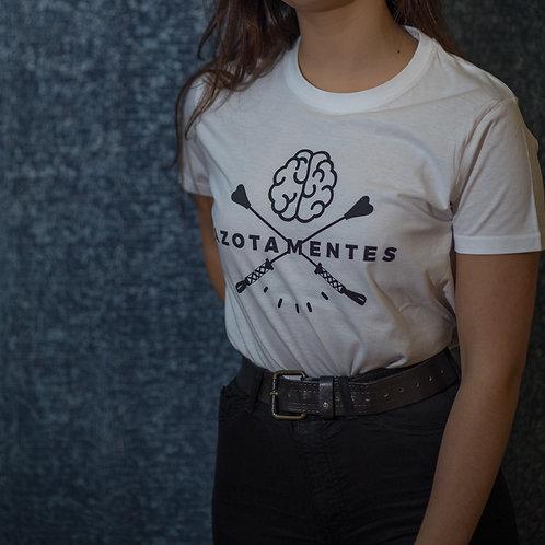 Camiseta unisex BLANCO Y NEGRO