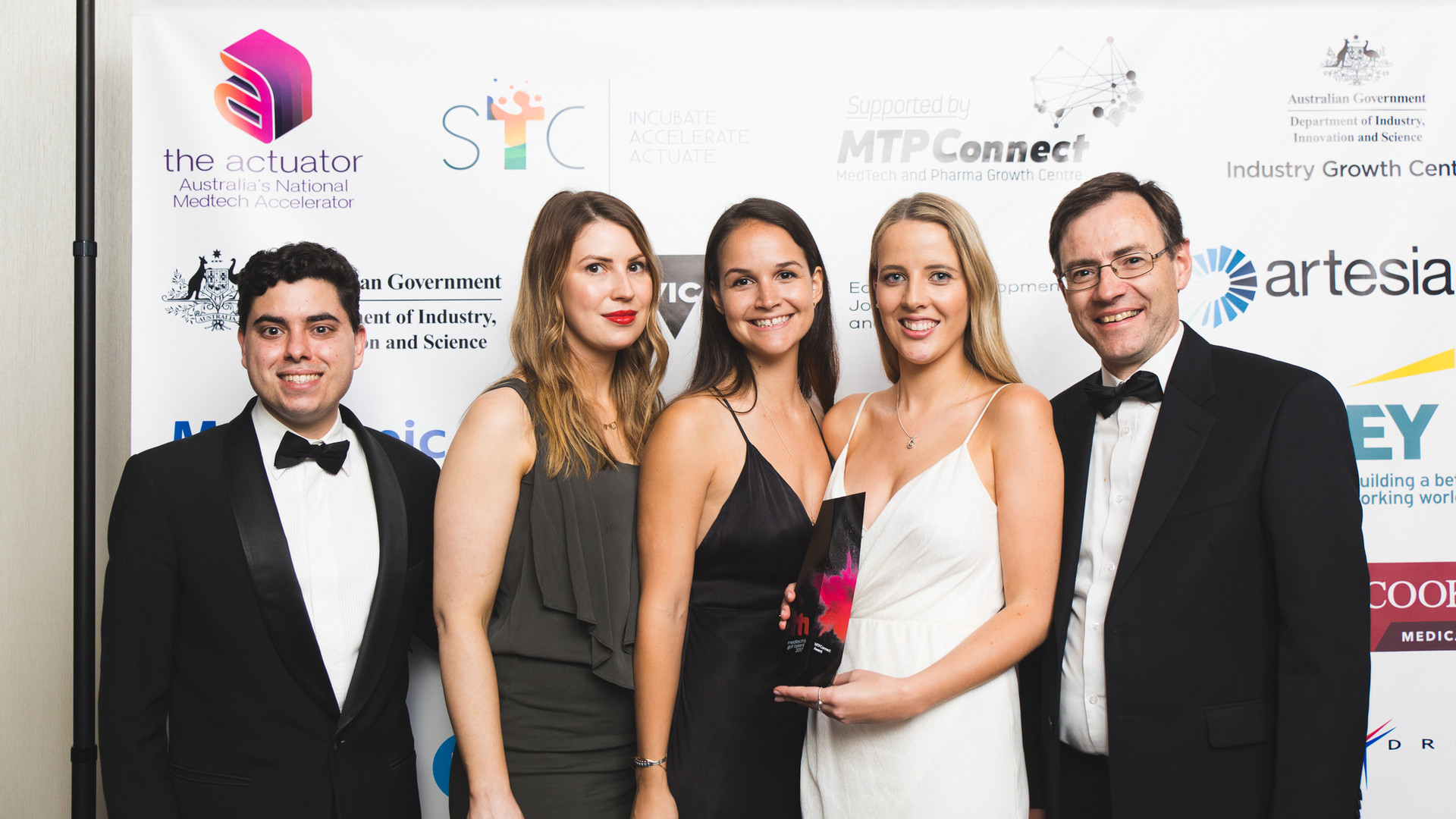 Stelect are the winners of the 2018 MedTech's Got Talent.