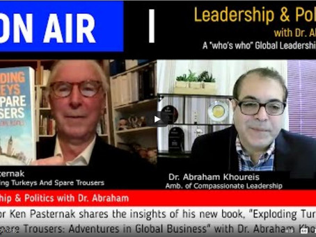 Interview on Dr. Abe Khoureis' Leadership and Politics Podcast
