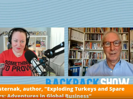 Backpack Show broadcast: What is in my backpack?