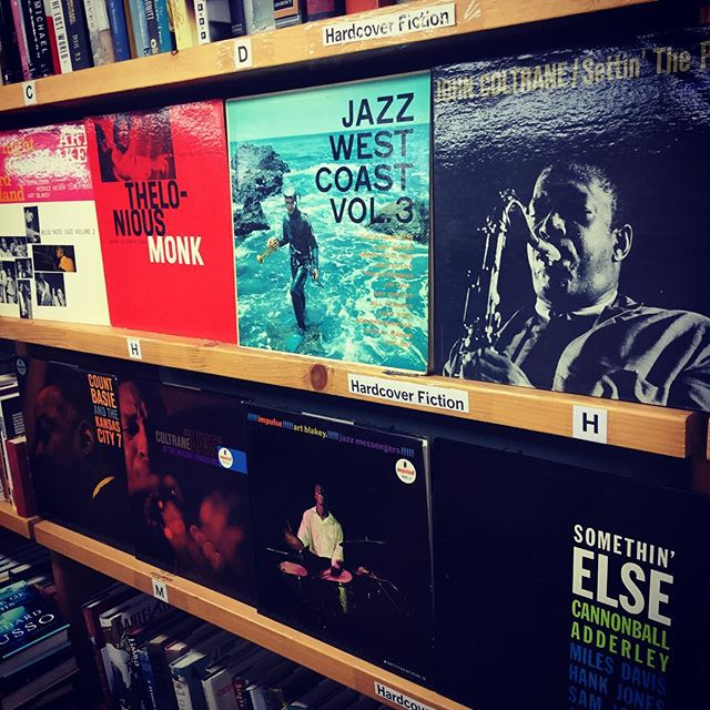 A few choice #records from a #jazz collection that came in today! These, and more, will be in the cr