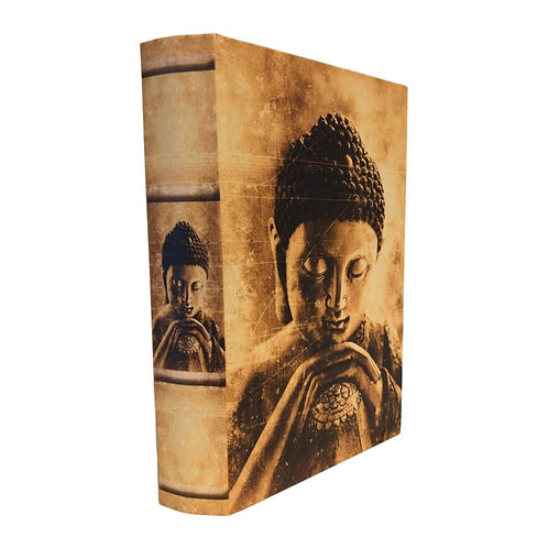 Caixa livro Hindu Organizadora Grande