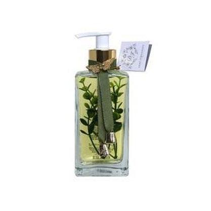 Sabonete líquido folhas verdes