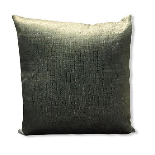 Almofada verde lisa
