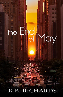 The End of May Book Cover –– Manhattanhenge