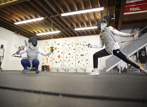 Intermediate Fencing Class