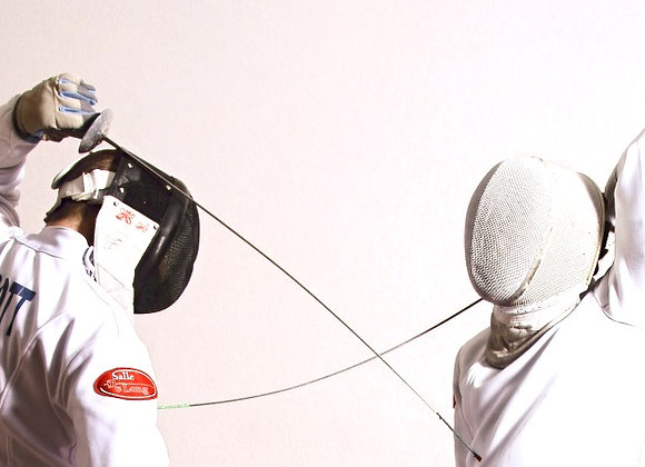 Pre-Competitive Fencing Class
