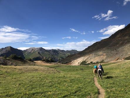 Alpine Horseback Riding