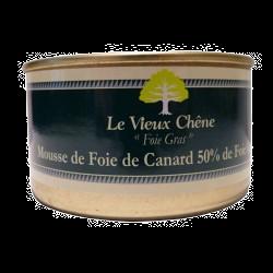 Mousse de Foie de Canard 50% Foie gras 130gr