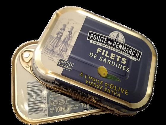 Sardine a filetti in olio d'oliva gusti assortiti