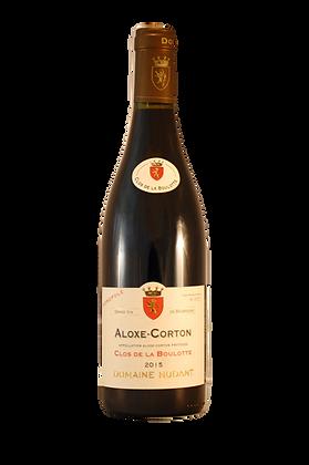 """Domaine Nudant Aloxe Corton """"Clos de la Boulotte"""" 2007 Rouge"""