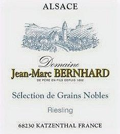 Bernhard Jean Marc - Riesling Sélection de Grains Nobles 2007 (50 cl)