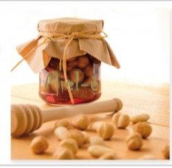 Nocciole tostate in Miele d'Acacia - Miel-è,100g