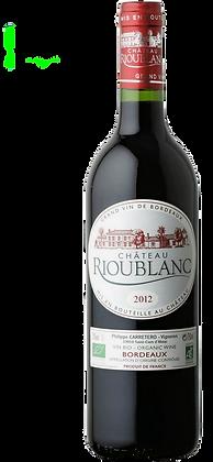 Chatêau Rioublanc - Bordeaux Supèrieur Rouge BIO