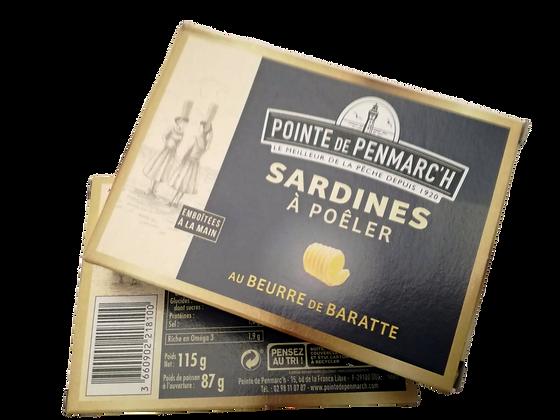Sardine al burro gusti assortiti