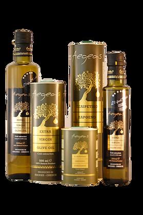 Aegeas Olio extravergine d'oliva qualità verde