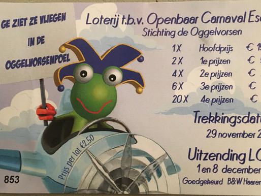Loterij openbaar Carnaval in Esch