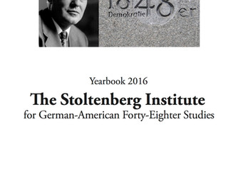Stoltenberg Yearbook                                 of Forty-Eighter Studies