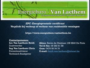 Energiebureau Van Laethem