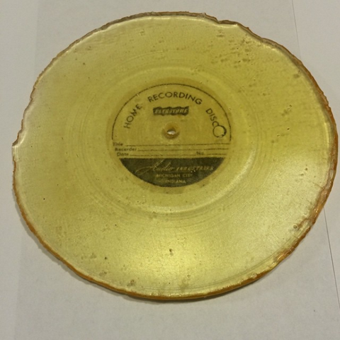 Home Recording Disc