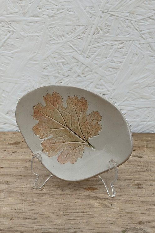 Small autumn leaf plate (1 in stock) Made to order