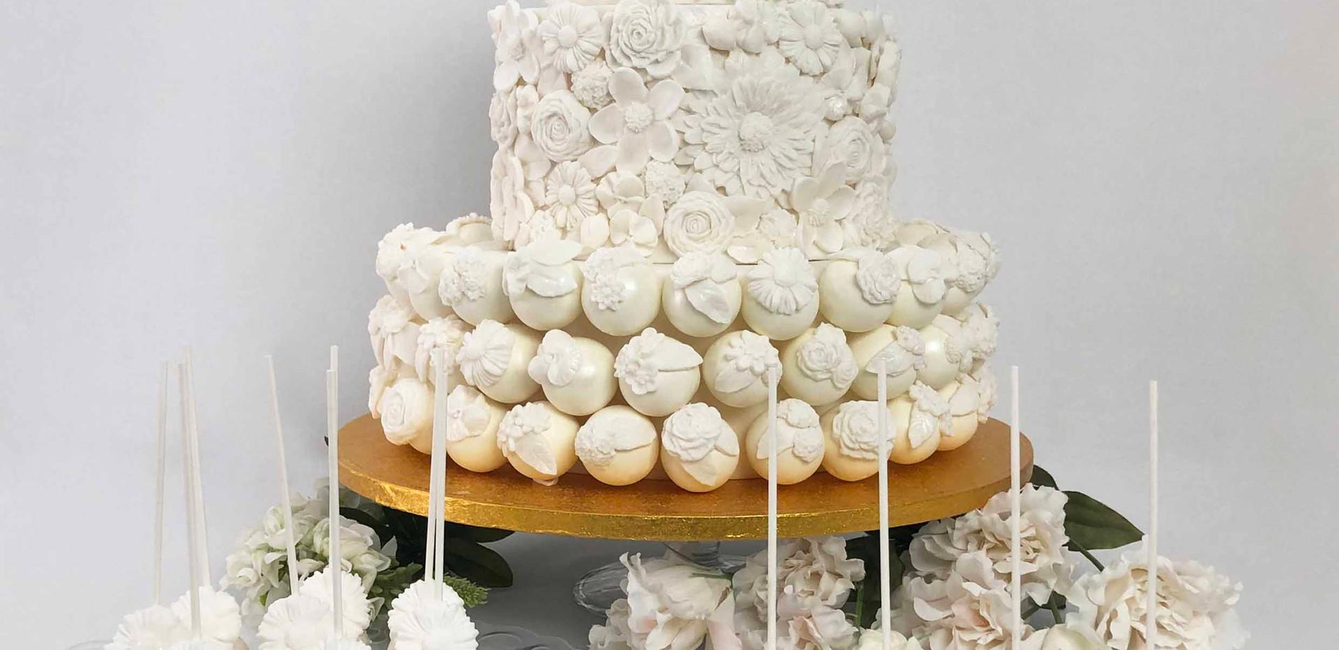 Floral Wedding Cake Image 8 with Logo LR